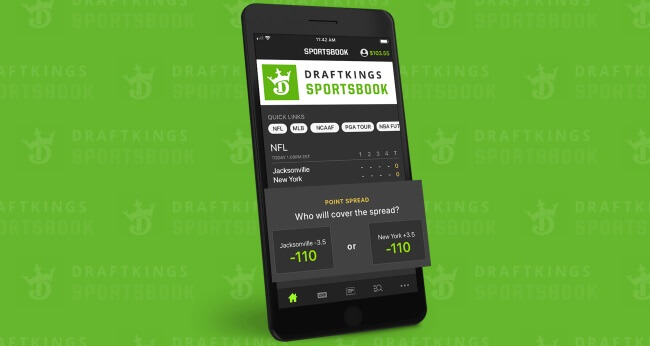 Draftkings Sportsbook app
