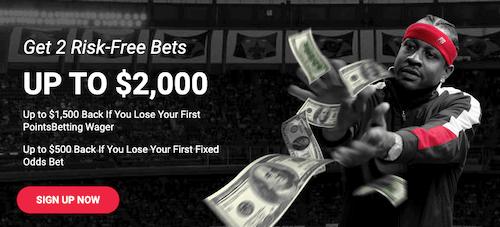 PointsBet $2000 Risk Free Offer