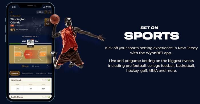 WynnBet Sports App