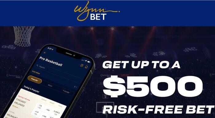 WynnBet Bonus - Risk free bet