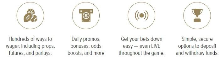 Caesars Sportsbook App Features
