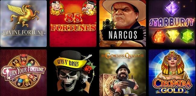 FourWinds Casino Games