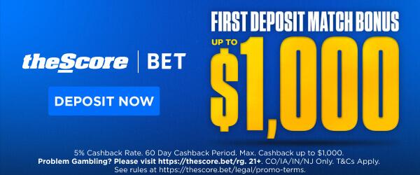 theScore $1000 bonus offer