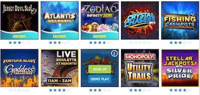 Resorts Casino Games