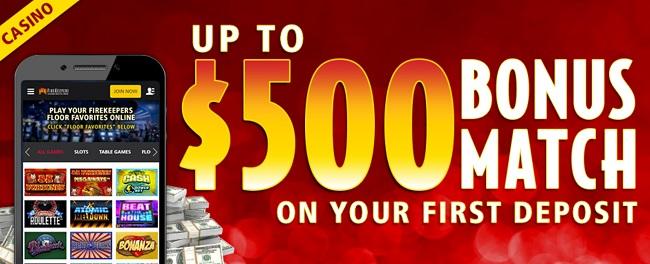 FireKeepers Casino Bonus
